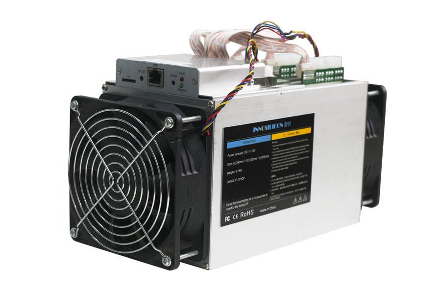 نمونه دستگاه استخراج کننده بیت کوین