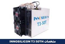 تصویر از دستگاه ماینر INNOSILICON T3 50TH