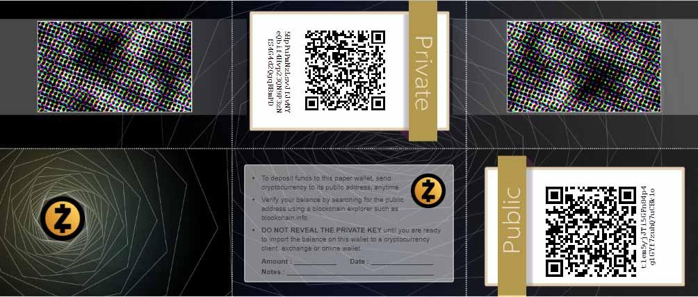 ساخت کیف پول کاغذی بیت کوین